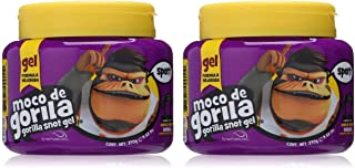 Moco De Gorila Sport Hair Gel   Energizing Hair Styling Gel for Extreme Long Lasting Hold, Gorilla Snot Gel is Ultimate Hair Gel to Energize any Hairstyle; 9.52 Ounce Jar (2 PACK)