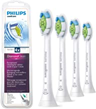 Aitianany Replacement Toothbrush Heads Compatible with Philips Sonicare DiamondClean Electric Toothbrushes HX6064, Plaque Control, Gum Healthy, Flex Care, Easy Clean (White (Pack of 4))