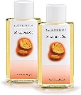 Sanct Bernhard Mandelöl - Natürliches Pflegeöl, ein Klassiker der Hautpflege, Inhalt 2 x 100 ml