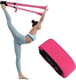 TOBWOLF Leg Stretcher Band, Flexibility Trainer Strap Splits Trainer for Dance Ballet Yoga Gymnastics Training Tensile Str...