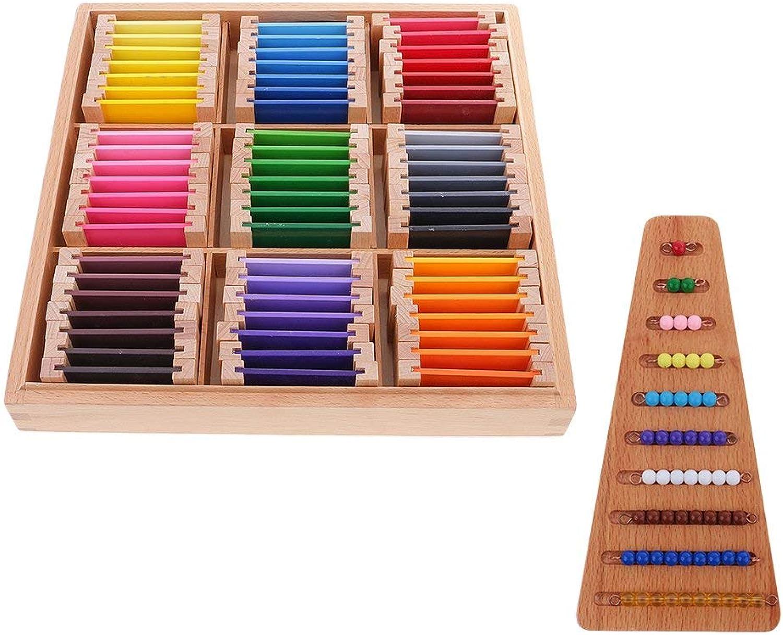 Tubayia 63 Farben Box    Zählen Perlen Treppen für Kinder Mathematik Lernspielzeug B07M7DNN1P  | Neuer Eintrag  0a4e0f
