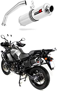 F 650 FUNDURO Escape Moto Deportivo Redondo Silenciador Dominator Exhaust Racing Slip-on