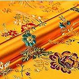 Immagine 1 vintage tessuto di seta finto