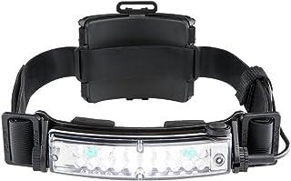 FoxFury 420-T06 Command+ Tilt Fire and Impact Resistant Waterproof White/Green LED Headlamp/Helmet Light, 100 Lumens