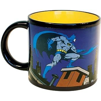 Logo DC Comics Movie Heat Changing Mug Cup Tea Coffee Gift UK Batman