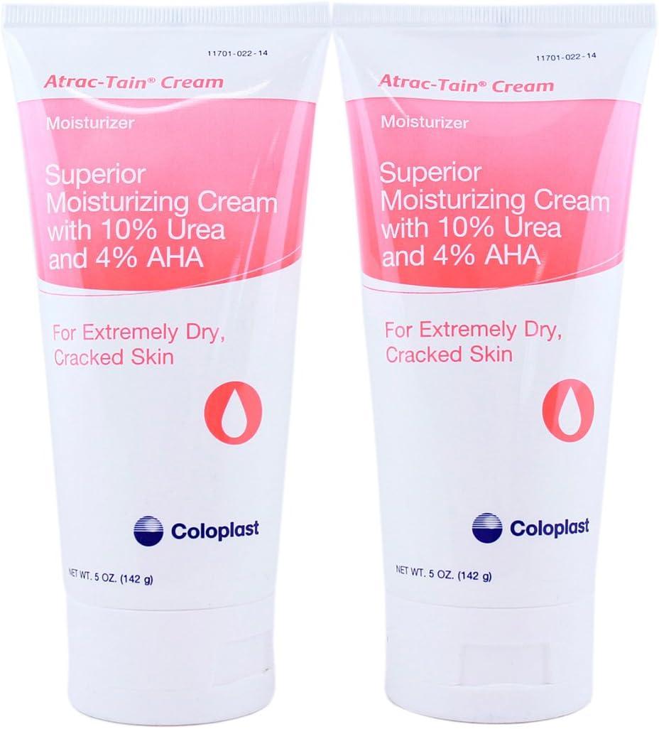 Coloplast Atrac-Tain Superior Moisturizing 世界の人気ブランド Cream 特別セール品 Ounce 5 Tube -