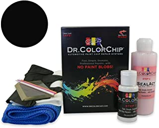 Dr. ColorChip Honda Civic Automobile Paint - Nighthawk Black Pearl B-92P - Squirt-n-Squeegee Kit