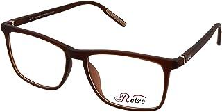 RETRO Unisex-adult Spectacle Frames Rectangular 5505 M.Brown