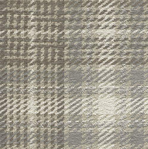 Joop! Stoff Polsterstoff Möbelstoff Bezugsstoff Meterware für Stühle, Eckbänke, Etc. - Scottish Beige Kariert - Muster