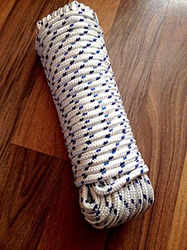 Nr.44 Seil, Schnur 10 mm x 30 m, Tauwerk, Flechtschnur, Leine, Reepseil, Bootsleine, Seil, Tau, Flechtleine, Reep Seil, Polypropylen Seil