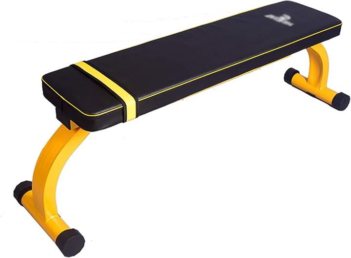 Panca pesi piatta professionale da palestra xlsqw - homegym palestra 345-603-485