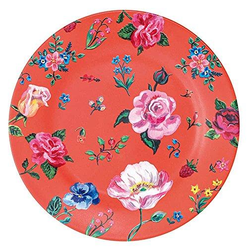 Grande assiette Petit Jour Paris - En mélamine - Coloris rouge