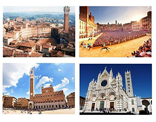 Capricci Italiani Set Tovagliette, Multicolore, Taglia Unica