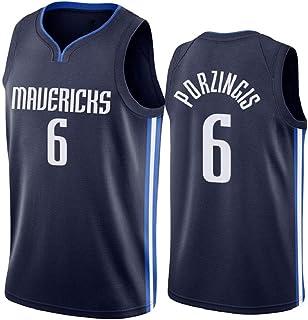 Uniformes Basketaball Regalos para Aficionados El Entrenamiento Camisetas Transpirable Z//A Dallas Mavericks # 41 Nowitzki T Camisa Adulto Camiseta Ropa Deportiva Y De Ocio