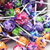 Tootsie Roll Tootsie Pops Assorted with Chocolatey Center, 3.75 Pound, 100 Count Giveaway Box, Peanut Free, Gluten Free Wild Berry Flavors, 60 Ounce #4