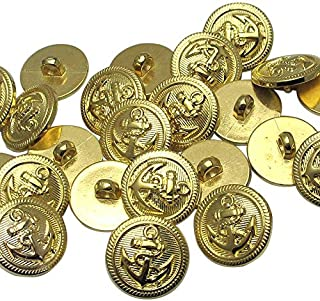 a28366f04d Amazon.com: Gold - Buttons / Fasteners: Arts, Crafts & Sewing