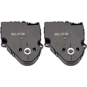 LSAILON HVAC Air Door Actuator-Fit for 2003 Isuzu 1995-2014 GMC Yukon XL 2500 1995-2014 Chevrolet-604-111 15-72972 16164972 52402599 52402611 89018375 Blend Door Actuator