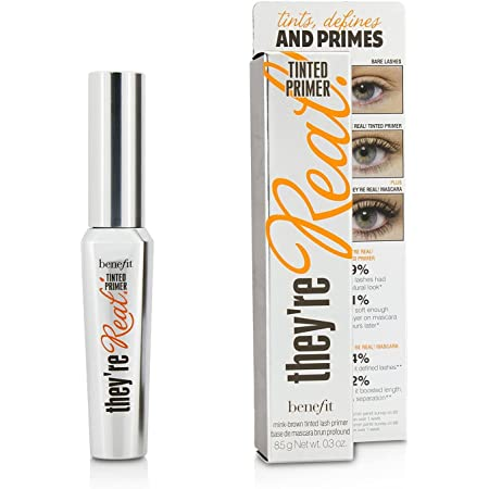 Benefit They're Real Tinted Lash Primer, Mink Brown, 0.3 Fl Oz