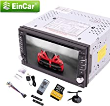 Double Din Wince Operating System GPS Navigation Car Stereo with 6.2 Inch Capacitive Touchscreen in Dash DVD Player Autoradio Bluetooth Head Unit USB SD AUX FM AM RDS Remote Control