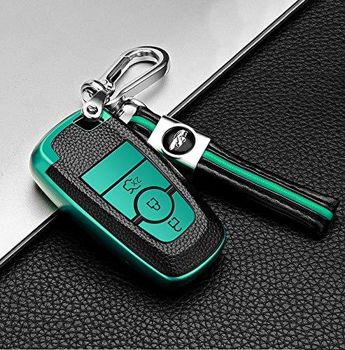 Funda para llave de coche de ontto para Ford Fusion Edge Mustang...