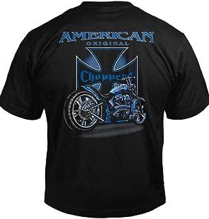 American Original Choppers Biker T-Shirt Men's Tee (6.1oz)