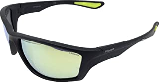 نظارات شمسية بولارويد 7015 /طراز S ALZ (LM) اسود / اصفر من بولاريزادو