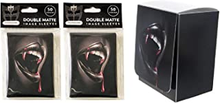 Thirst Design Deck Box + 100 Thirst Double Matte Sleeves (fits MTG, Pokemon, Force of Will Cards)