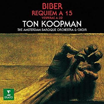 Biber: Requiem a 15 & Vesperae a 32