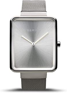 BERING Time 14528-000 Watch Women Classic Collection with Stainless-Steel Strap and Highly Scratch-Resistant Sapphire Crystal. Designed in Denmark