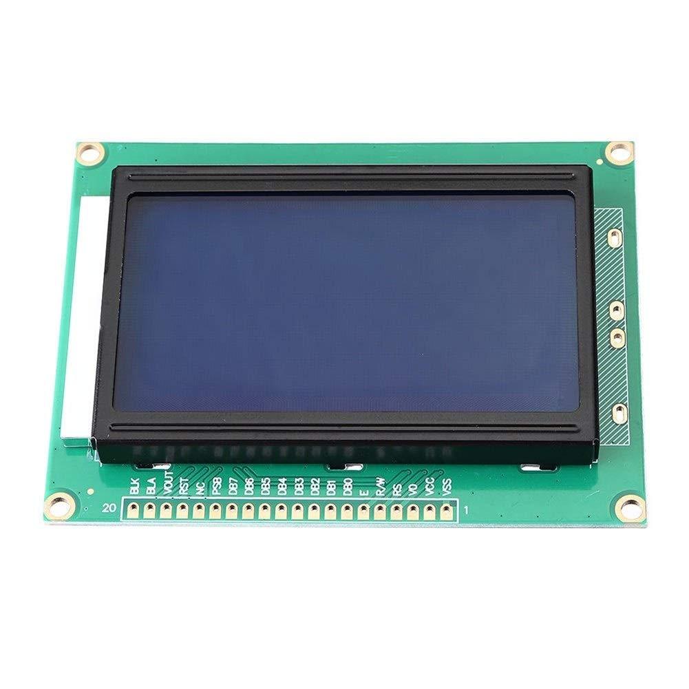 Jodie Bernol 5V 1604 LCD 16x4 Pantalla LCD de Caracteres Blue Blacklight Módulo de Pantalla LCD for Arduino monitores: Amazon.es: Electrónica