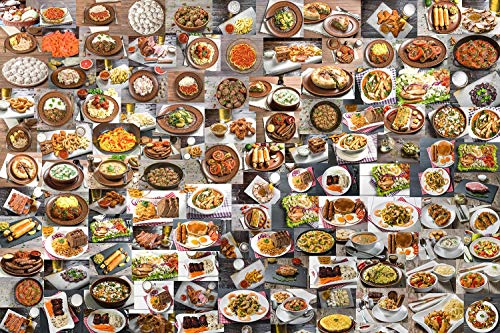 Hungry? Food Puzzle for Adults and Kids   Difficult 1000 Piece Jigsaw Puzzle Toy   Fun Quarantine Gift   Interactive Brain Teaser Challenge for Game Night   28 x 20 Inches
