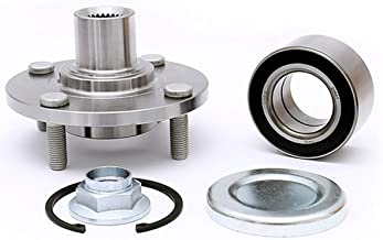 FKG 518510 Front Wheel Bearing Hub Assembly fit for 2000-2011 Ford Focus, 4 Lugs