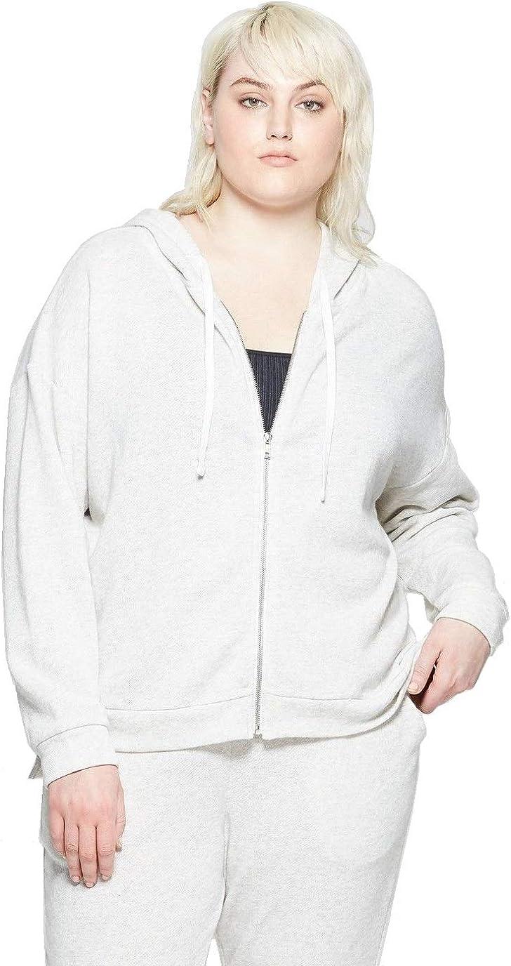 Colsie Women's Plus Size Lounge Hooded Sleep Sweatshirt