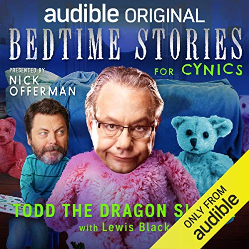 Ep. 7: Todd the Dragon Slayer with Lewis Black (Bedtime Stories for Cynics) copertina