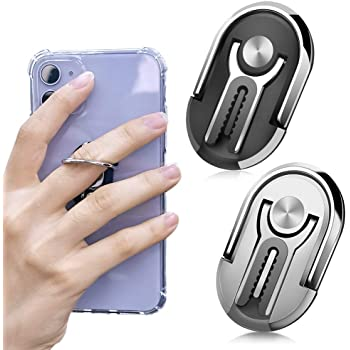 Kickstand// Ring Multifunctional Electronic Lighter /& Cellphone Holder
