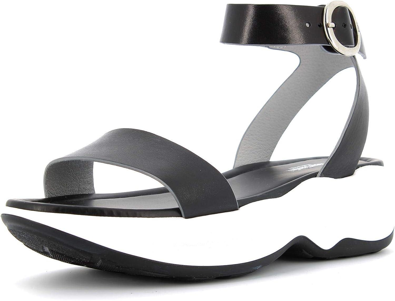 black GIARDINI women's shoes sandals with platform P908370D   100 size 39 Black