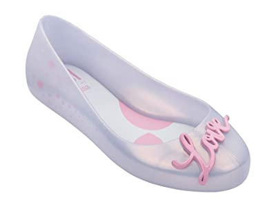 Mini Melissa Mel Sweet Love V INF (Little Kid/Big Kid) (Pearly Pink) Girl