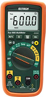 Extech EX355 True RMS Professional MultiMeter with NCV and Temperature Measurements