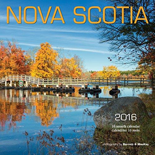 Nova Scotia 2016 Square 12x12 Bilingual Wall Calendar