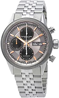 Raymond Weil Freelancer Chronograph Automatic Grey Dial Mens Watch 7731-ST2-65655
