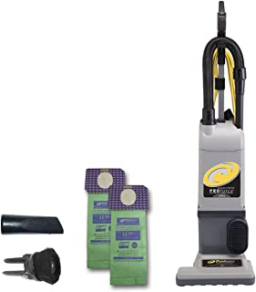 ProTeam ProForce 1200XP Bagged Upright Vacuum Cleaner with HEPA Media Filtration, Commercial Upright Vacuum with On-Board ...