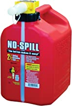 No-Spill Gas Can - 2.5 Gallon/Red