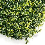 STI Siepe Sintetica Sempreverde Bosso Bicolore Invernale 50x100cm