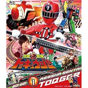 """スーパー戦隊シリーズ 烈車戦隊トッキュウジャーVOL.1 [Blu-ray]"""""""