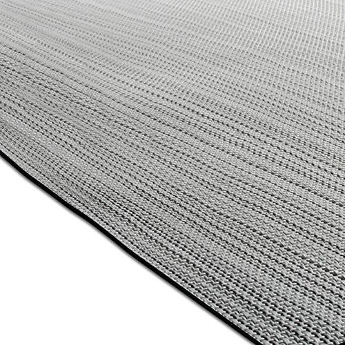 casa pura Design Bodenschutzmatte Bologna in 6 Größen | dekorative Unterlegmatte für Bürostühle...