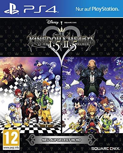 KINGDOM HEARTS HD 1.5 & 2.5 ReMIX - [AT-PEGI] - [PlayStation 4]