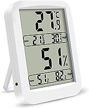 Digital De Habitaciones La Temperatura del Termómetro del Sensor De Humedad Termómetro Muestra MAX/Min Temperatura Registrada Y El Monitoreo De Humedad En Tiempo Real