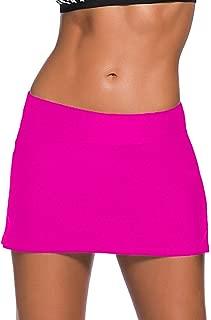 CHITONE Women's Bikini Swimming Skirt Panty Swimsuit Bottom Shorts Boardshort