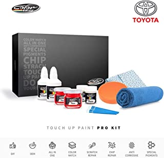 Color N Drive | Toyota 070 - Blizzard White Pearl/White Pearl Crystal Shine Touch Up Paint | Compatible with All Toyota Models | Paint Scratch, Chips Repair | OEM Quality | Exact Match | Pro