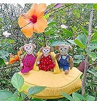 布おもちゃ プレイハウス モンキーバナナプレイハウス